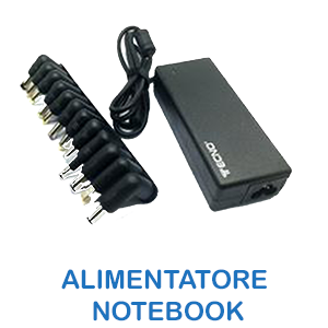 Alimentatore notebook