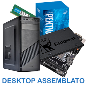 PC DESKTOP ASSEMBLATO