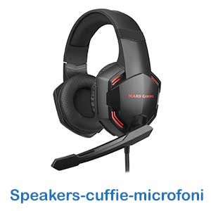 Speakers-cuffie-microfoni